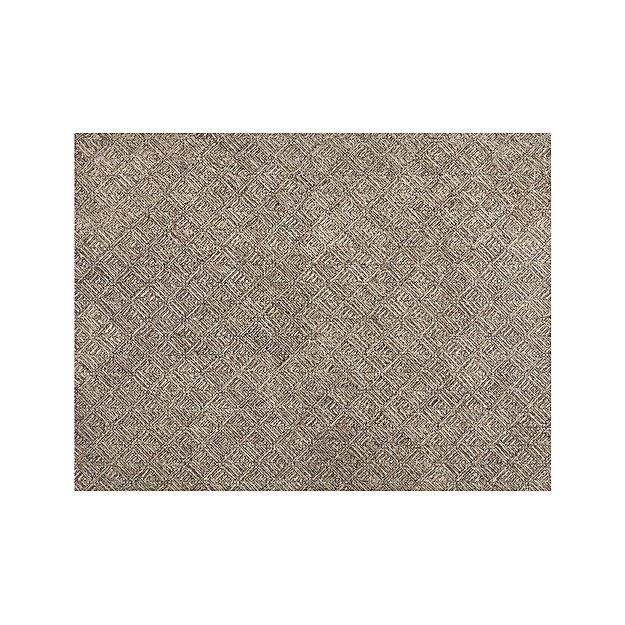 Curtis Flint Grey Wool-Blend 9'x12' Rug