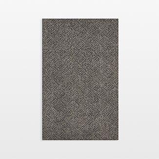 Curtis Indigo Blue Wool-Blend 5'x8' Rug