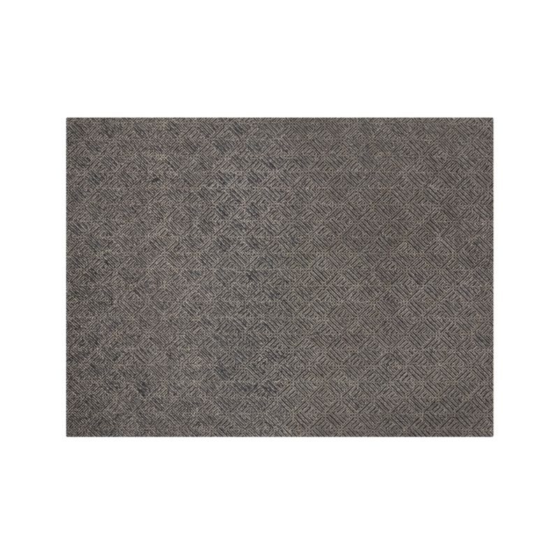 Curtis Indigo Blue Wool-Blend 9'x12' Rug