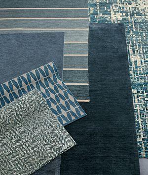 Curtis Indigo Blue Wool-Blend 9