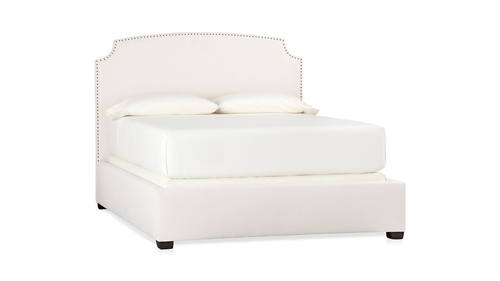 Curve Upholstered King Bed