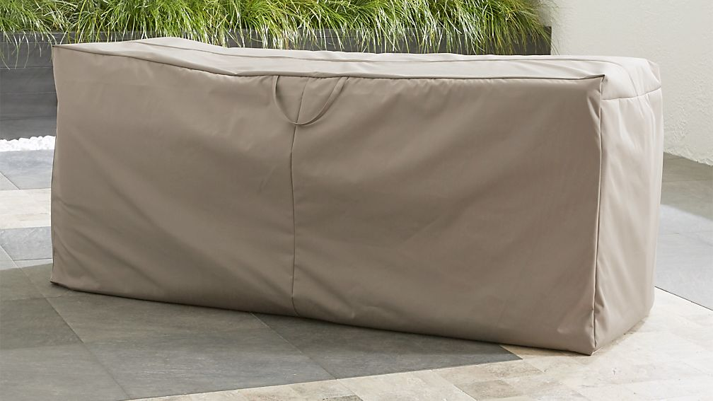 Outdoor Bench Chaise Cushion Storage Bag