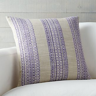 "Dabney Grape Purple 20"" Pillow"