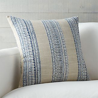 "Dabney Indigo Blue 20"" Pillow"
