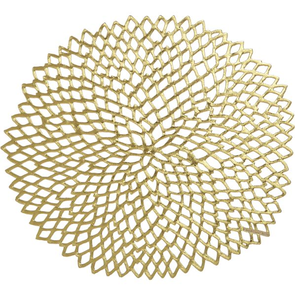 Chilewich ® Dahlia Gold Placemat