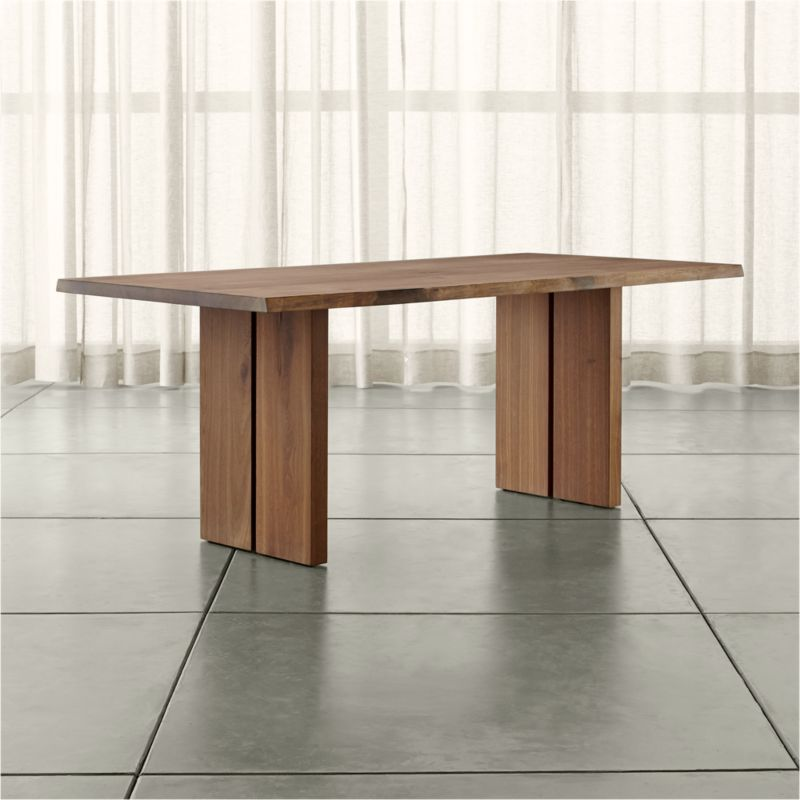 Dakota 77 Quot Dining Table Crate And Barrel