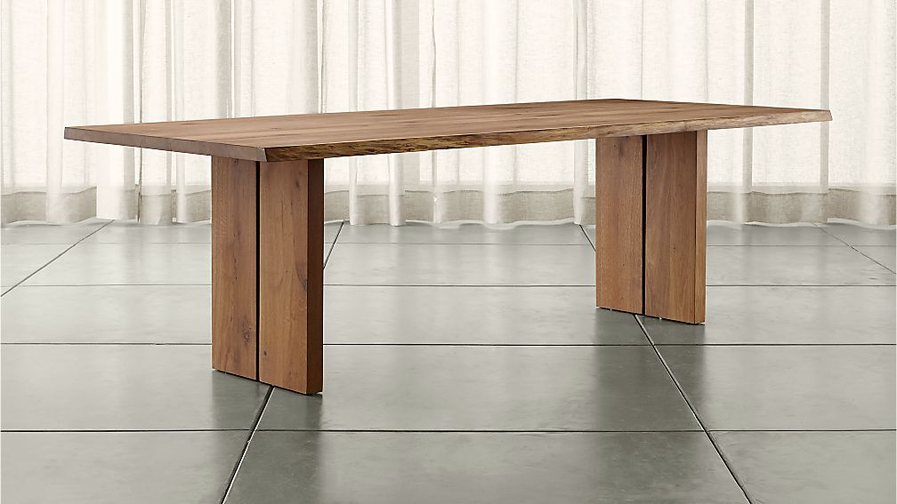 dakota 99 dining table crate and barrel