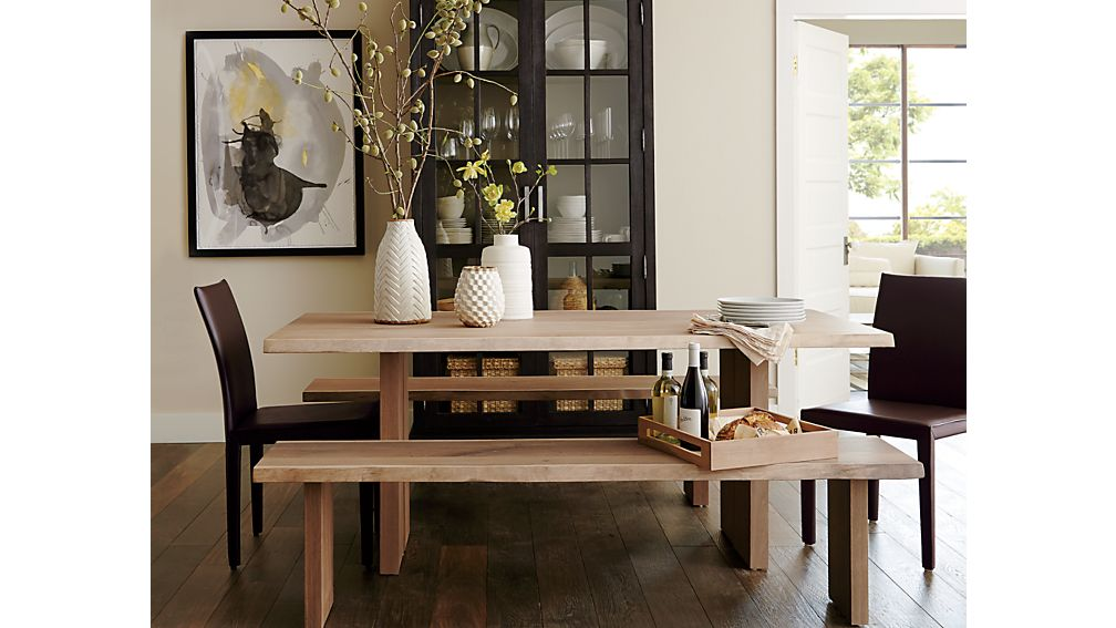 Mango Wood Tables Crate And Barrel Images Solid Oak