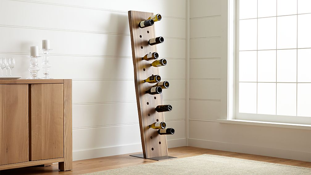 Dakota 24-Bottle Leaning Wine Rack