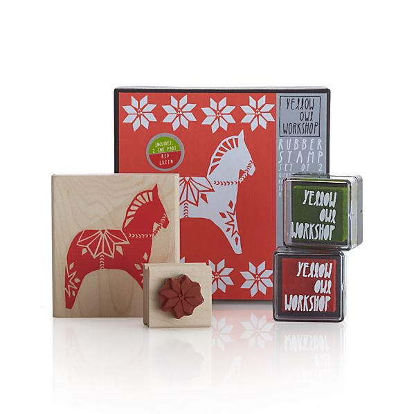 Dala Horse Stamp Set