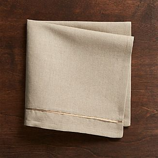 Dalton Neutral Cotton Dinner Napkin