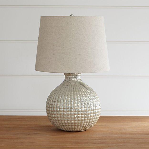 dalton table lamp crate and barrel. Black Bedroom Furniture Sets. Home Design Ideas