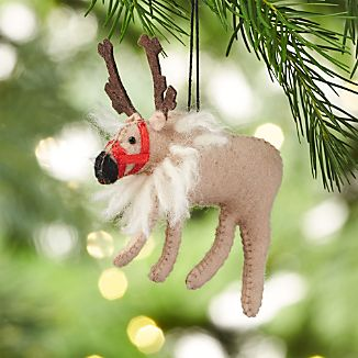 Dancer the Reindeer Felt Ornament