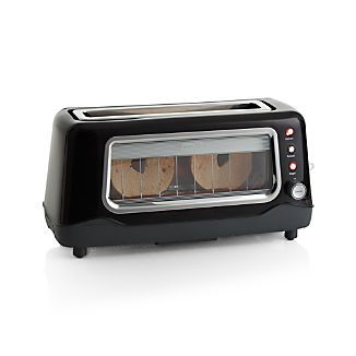 Dash ® Clearly Better Black Toaster