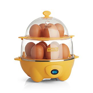 Dash ® Deluxe Yellow  Egg Cooker