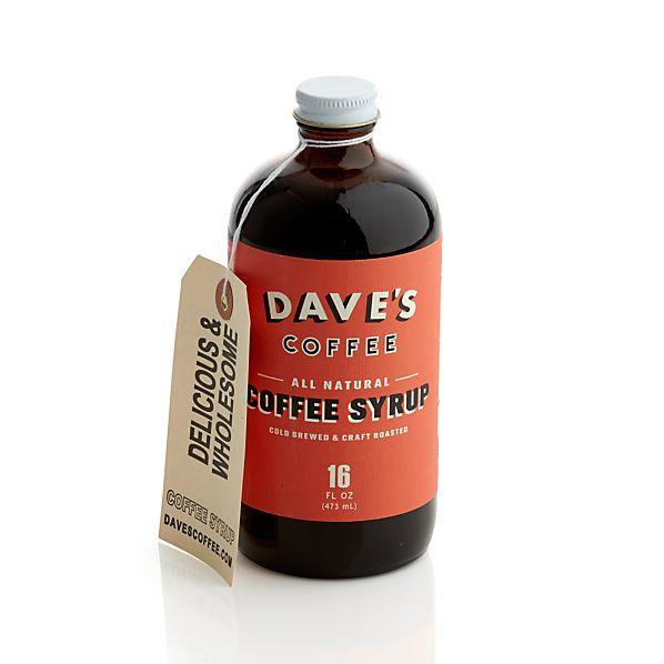 Dave's Original Cold Brew Coffee Syrup