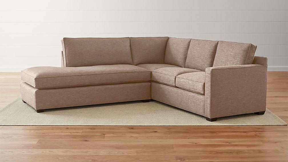 Davis 2-Piece Left Bumper Sectional Sofa