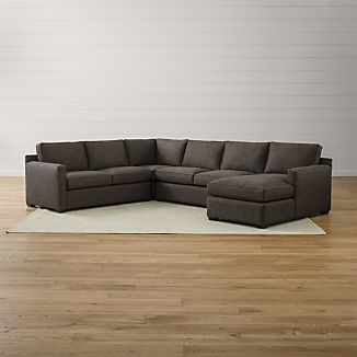 Davis 4-Piece Sectional Sofa