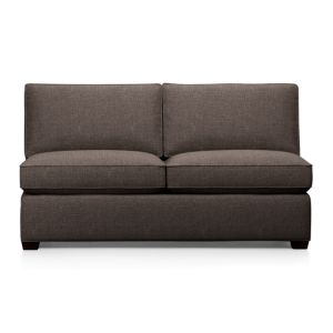 Davis Armless Sectional Full Sleeper Sofa
