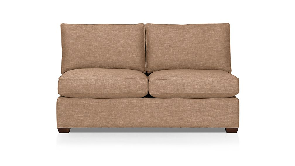 Davis Armless Loveseat