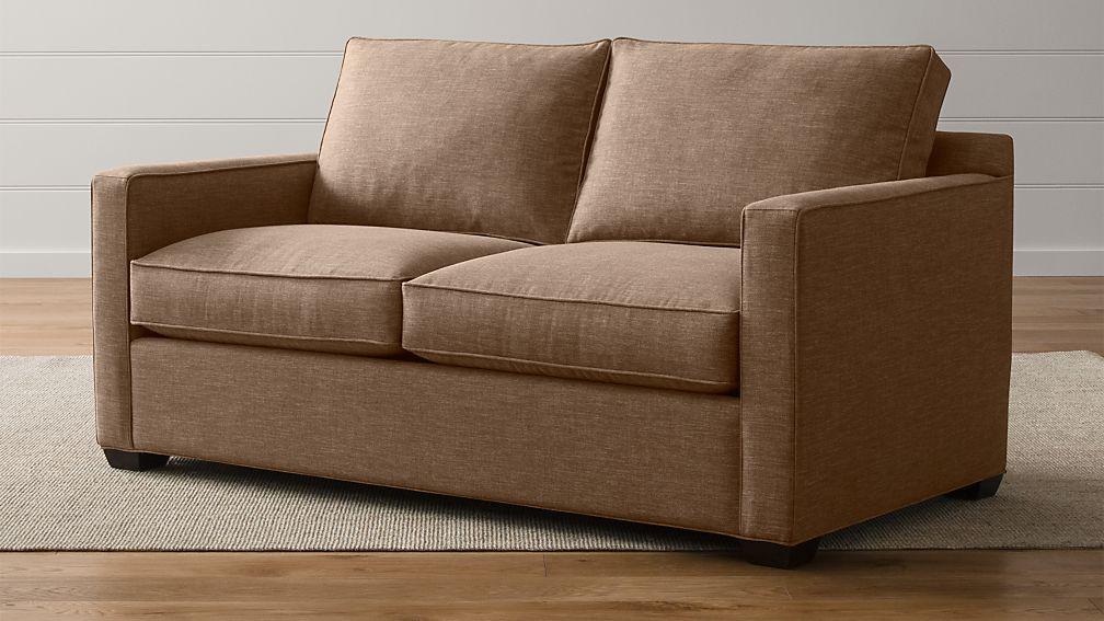 Davis Full Sleeper Sofa With Air Mattress Darius Mink