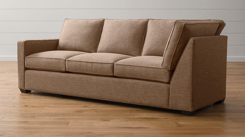 Davis Left Arm Corner Sofa