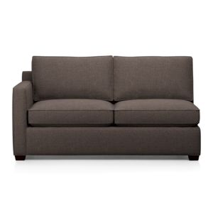 Davis Left Arm Sectional Full Sleeper Sofa with Air Mattress