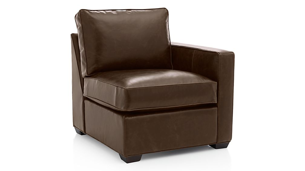 Davis Leather Right Arm Chair