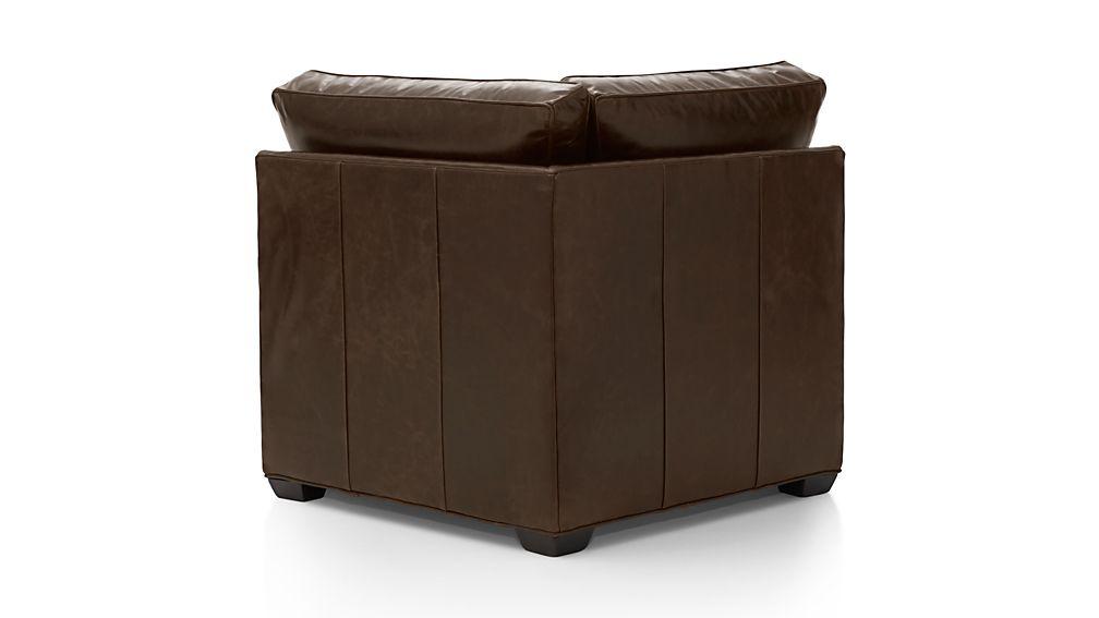 Davis Leather Corner Chair