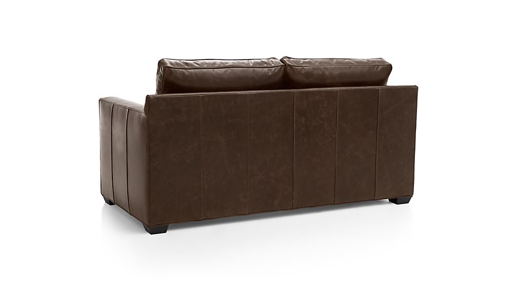 Davis Leather Full Sleeper Sofa