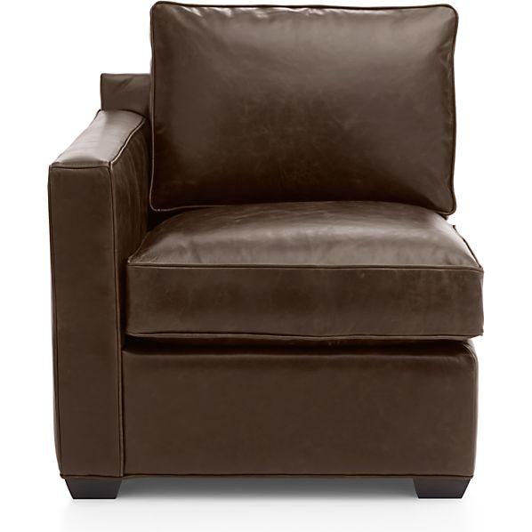 Davis Leather Left Arm Chair
