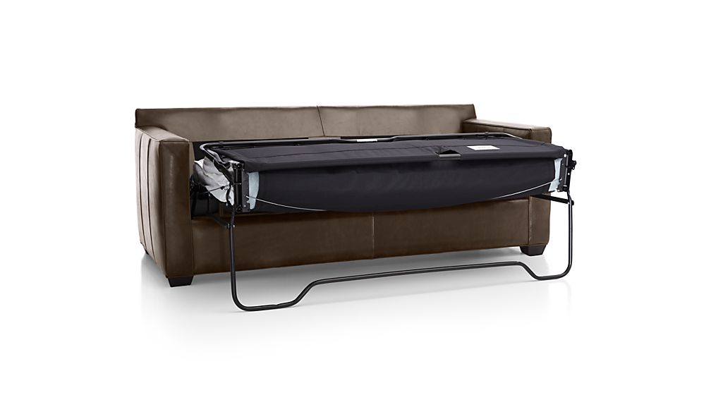 Davis Leather Queen Sleeper Sofa