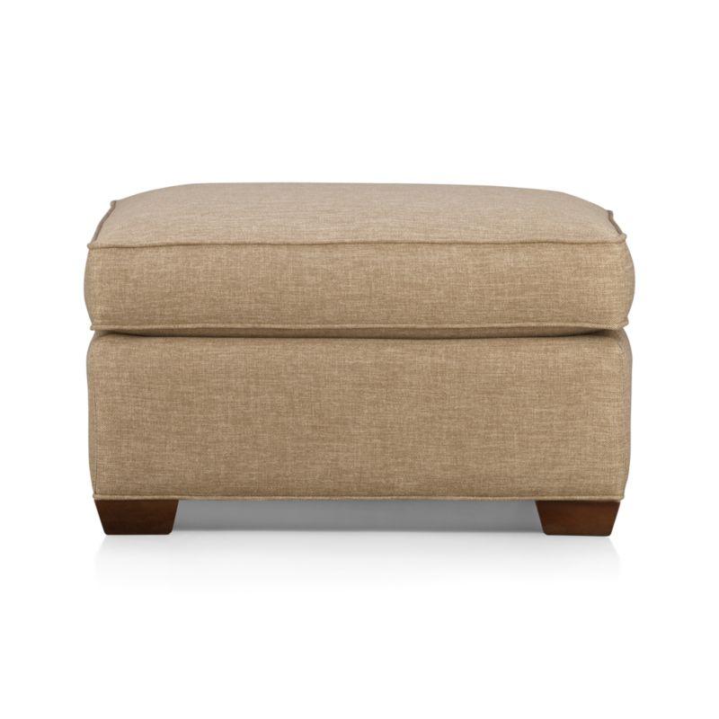 davis ottoman crate and barrel. Black Bedroom Furniture Sets. Home Design Ideas