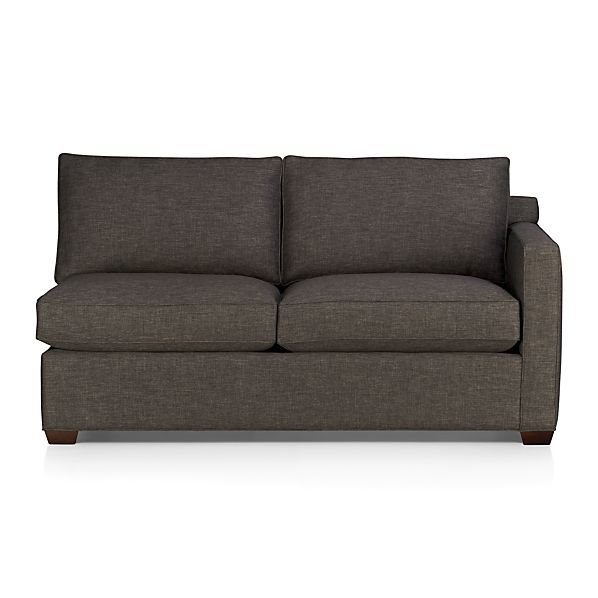 Davis Right Arm Sectional Apartment Sofa