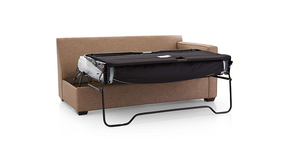 Davis Right Arm Full Sleeper Sofa with Air Mattress