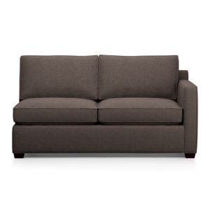 Davis Right Arm Sectional Full Sleeper Sofa with Air Mattress