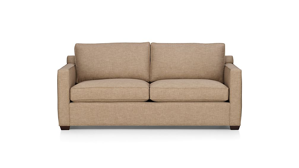 Davis Modern Microfiber Sofa Crate And Barrel