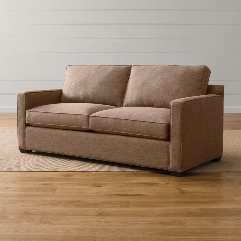 Davis Queen Sleeper Sofa Darius Mink Crate And Barrel