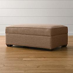 Davis 2 Piece Sectional Sofa Darius Mink Crate And Barrel