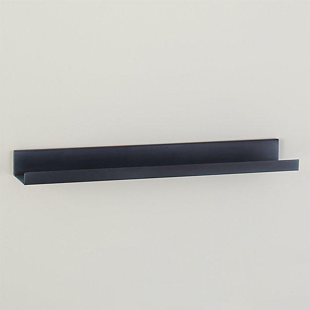 "Davis 24"" Zinc Wall Shelf"