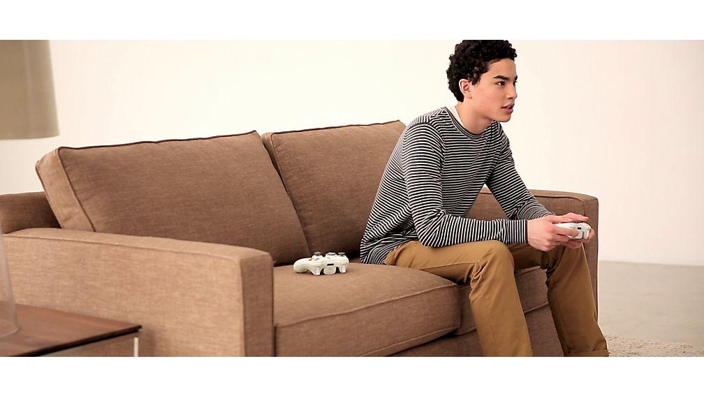 Davis Left Arm Sectional Apartment Sofa