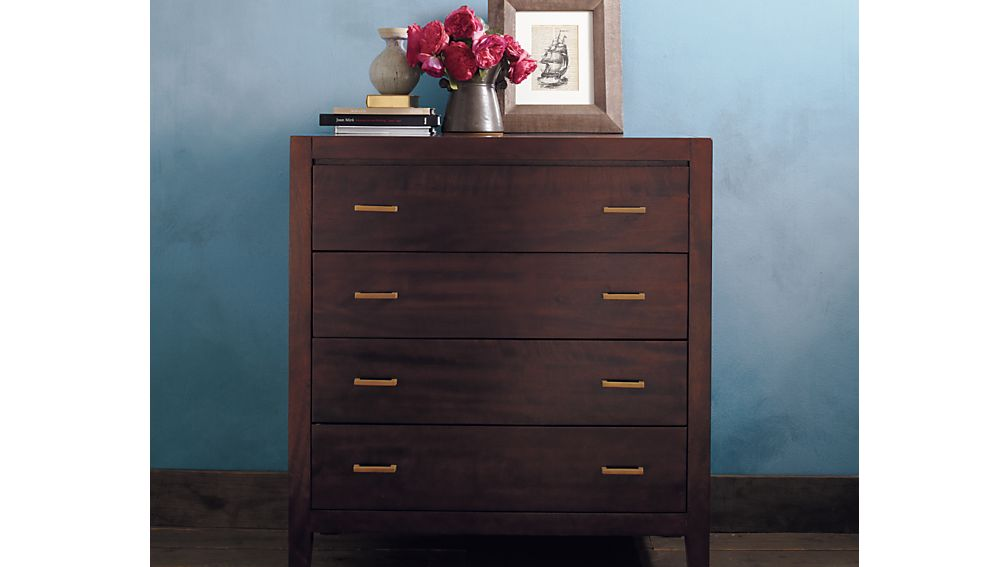 Dawson Clove 4-Drawer Chest
