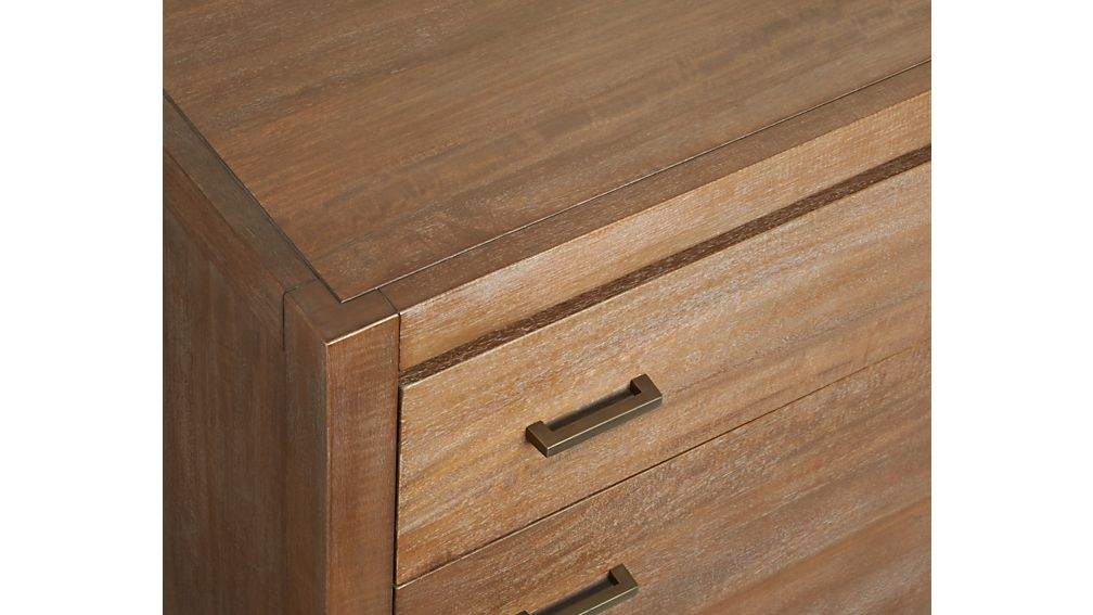 Dawson Grey Wash 4-Drawer Chest