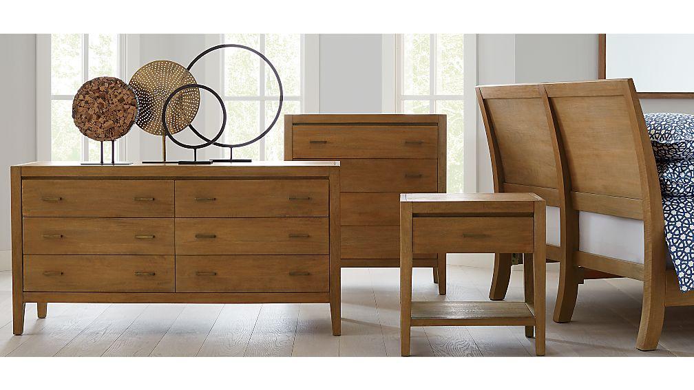 Dawson Grey Wash 6-Drawer Dresser