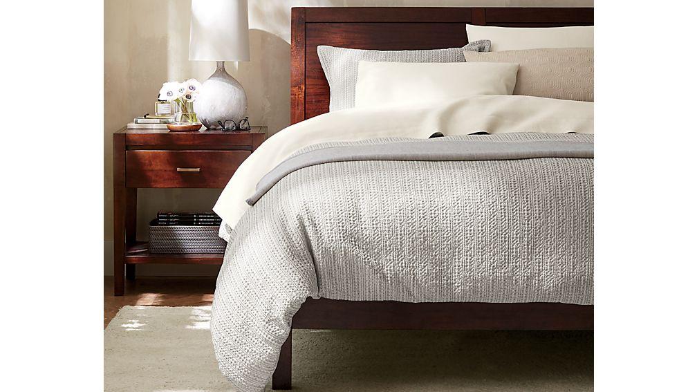 Dawson Clove Queen Sleigh Bed