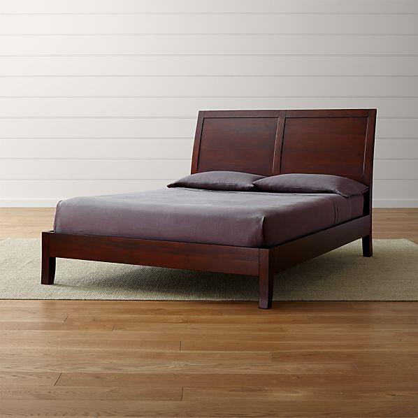 Dawson Clove Sleigh Bed