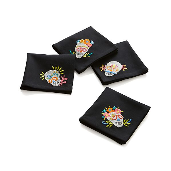 Set of 4 Morelia Cocktail Napkins