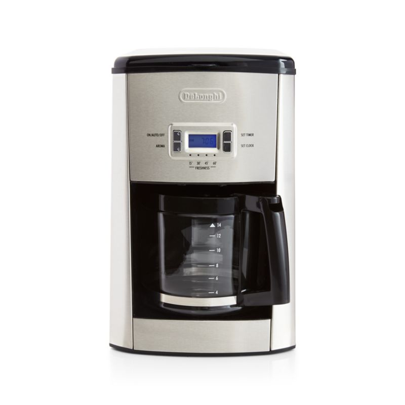 Delonghi 14-cup Programmable Drip Coffee Maker in New Kitchen Crate and Barrel
