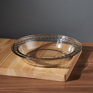 Deep Glass Pie Dish