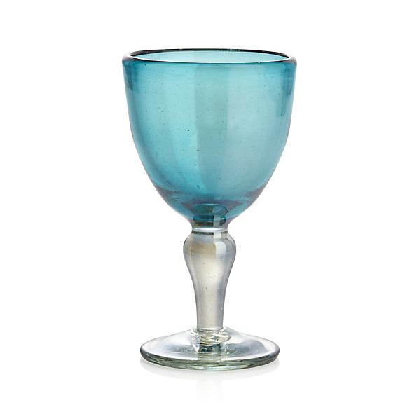 del mar wine glass in wine glasses crate and barrel. Black Bedroom Furniture Sets. Home Design Ideas